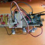Arduinoとタミヤのリモコン・インセクトを使用して自由に動き回るロボットを作成!