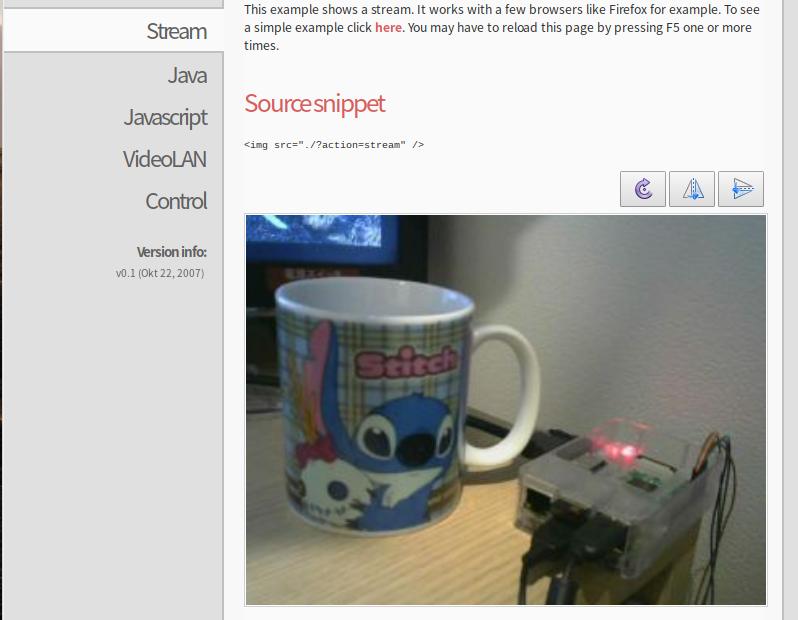 RaspberryPiとMJPG-Streamerでライブストリーミングをする方法