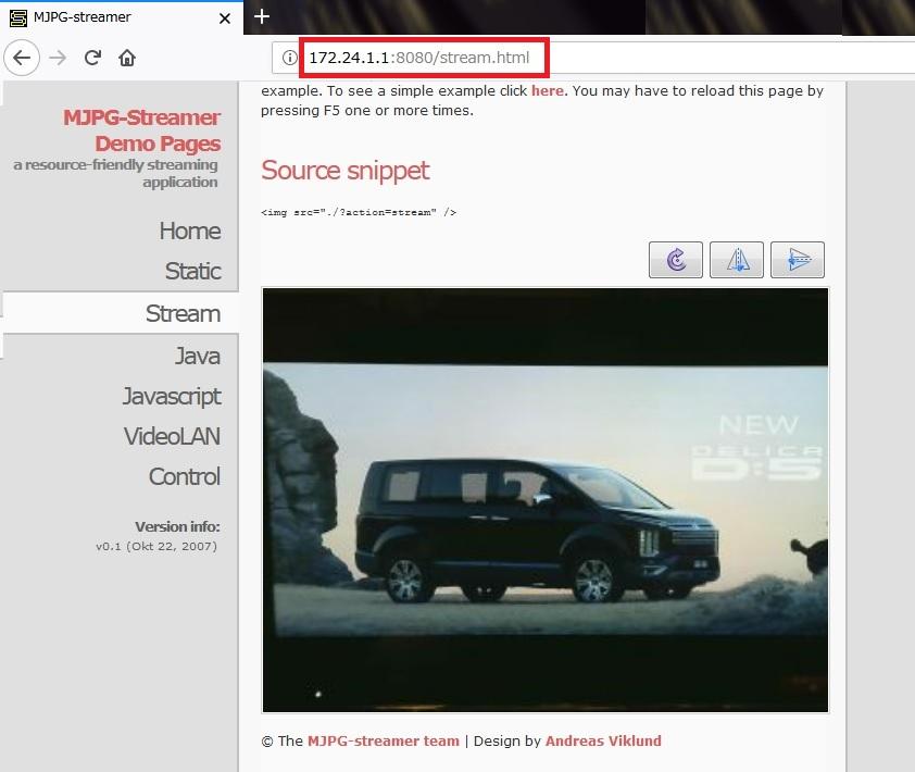 Raspberry Pi3(Raspbian Jessie)をアクセスポイント化してWiFiで動画配信する