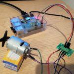 RaspberryPiと「DRV8835使用DCモータードライブキット」でDCモーターを動かしてみた