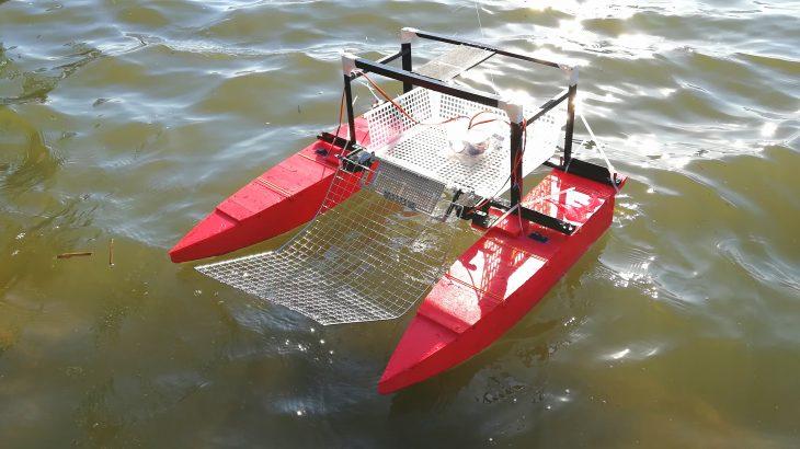 ゴミ回収ロボットの開発記録