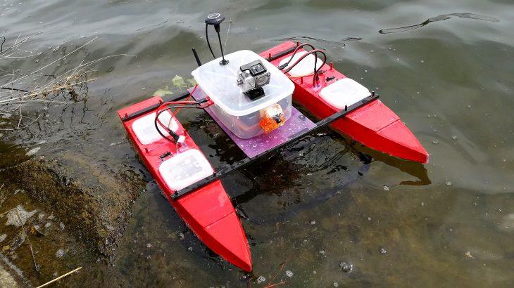 海や川のゴミをロボットで回収できる?実際にゴミ回収ロボットを開発してみた