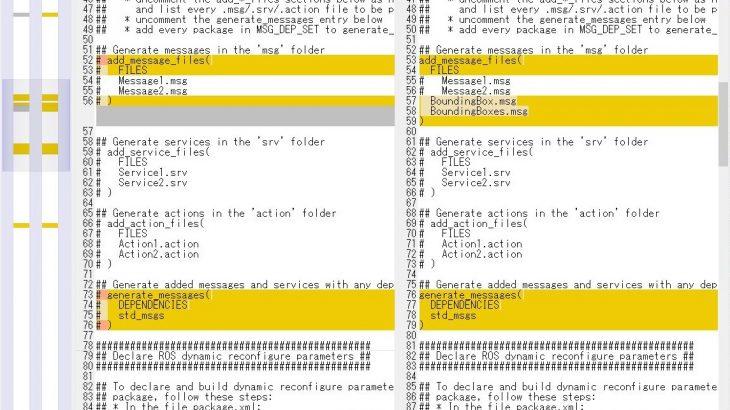 物体検出で取得したBoundingBoxをROSでpublishする方法